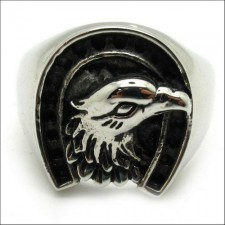 Freedom Bold Symbol Eagle Ring nva523