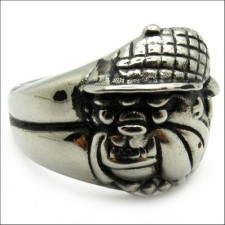 Pekingese Bull Dog Hat Ring nva526