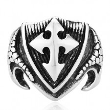 Gothic Cross Ring nva546