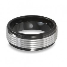 Tungsten Black  8mm Nv54a